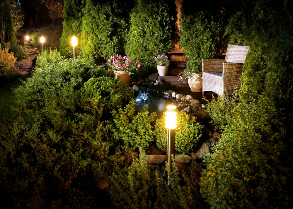 How Much Energy Does Landscape Lighting Use Resort